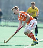 ROTTERDAM -    Jim van de Venne (Neth) .    Practice Match  Hockey : Netherlands Boys U16  v England U16 . COPYRIGHT KOEN SUYK