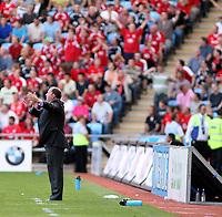 Photo: Mark Stephenson.<br /> Coventry City v Bristol City. Coca Cola Championship. 15/09/2007.Bristol's manager Gary Johnson