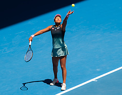 January 23, 2019 - Melbourne, AUSTRALIA - Naomi Osaka of Japan in action during her quarter-final match at the 2019 Australian Open Grand Slam tennis tournament (Credit Image: © AFP7 via ZUMA Wire)