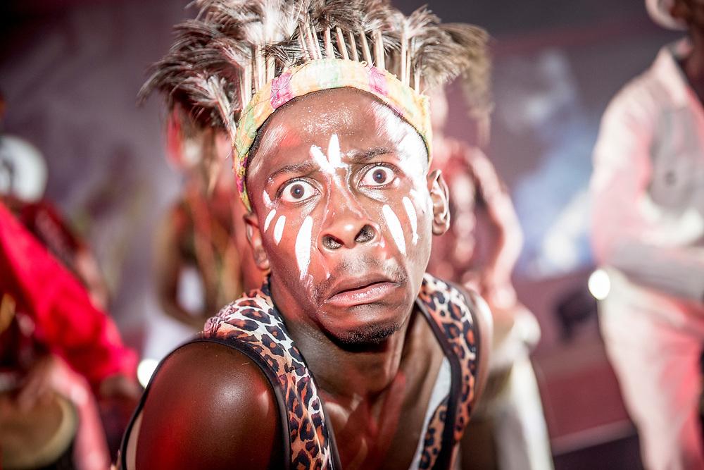 © Maria Muina I MAPFRE. Price giving ceremony for Leg 2 in Cape Town. Ceremonia de entrega de premios de la etapa 2 en Ciudad del Cabo.
