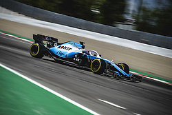May 12, 2019 - Barcelona, Catalonia, Spain - GEORGE RUSSEL (GBR) from team Williams drives in his FW42 during the Spanish GP at Circuit de Catalunya (Credit Image: © Matthias Oesterle/ZUMA Wire)
