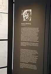 April 27, 2017 - Stockholm, Sweden - Naima Callenberg..Utställning av teckningstävlingen ''Den tänkande handen'' pÃ¥ Gustav III:s antikmuseum, Den tänkande handen är en tävling för yngre yrkesutövare som arbetar med visuell gestaltning, arrangör Kungl. Hovstaterna i samarbete med Kungl. Akademien för de fria konsterna (Konstakademien). 10 st utvalda unga konstnärer ställer ut,..Stockholm, 2017-04-27..(c) Patrik C Österberg / IBL......English: Naima Callenberg..Exhibition of the drawing contest ''The Thinking Hand'' at the Gustav III Antique Museum, The Thinking Hand is a competition for younger professionals working with visual design, organizer Kungl. Hovstaterne in cooperation with Kungl. Academy of the Free Arts (Konstakademien). 10 selected young artists exhibit,..Stockholm, 2017-04-27..(c) Photo: Patrik C Osterberg / IBL (Credit Image: © Patrik ÖSterberg/IBL via ZUMA Press)