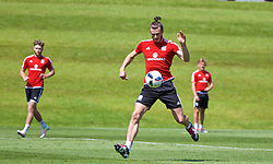 CARDIFF, WALES - Friday, June 3, 2016: Wales' Gareth Bale during a training session at the Vale Resort Hotel ahead of the International Friendly match against Sweden. (Pic by David Rawcliffe/Propaganda)