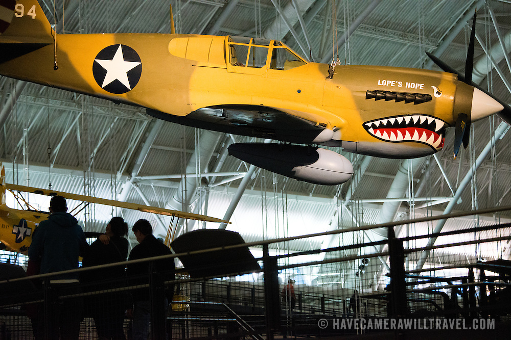 Located near Dulles Airport, the Udvar-Hazy Center is the second public facility of the Smithsonian's National Air and Space Museum. Housed in a large hangar are a multitude of planes, helicopter, rockets, and space vehicles.