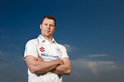 Gloucestershire Captain Geraint Jones poses in the LV County Championship Division 2 kit at the preseason Media Day - Photo mandatory by-line: Rogan Thomson/JMP - 07966 386802 - 10/04/2015 - SPORT - CRICKET - Bristol, England - Bristol County Ground - Gloucestershire County Cricket Club Photocall.