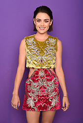 LOS ANGELES - AUGUST 13: Lucy Hale at FOX's 'Teen Choice 2017' at the Galen Center on August 13, 2017 in Los Angeles, California. (Photo by Frank Micelotta/FOX/PictureGroup)
