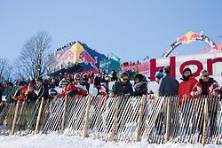 21.01.2017, Hahnenkamm, Kitzbühel, AUT, FIS Weltcup Ski Alpin, Kitzbuehel, Abfahrt, Herren, im Bild Übersicht Hausbergkante // Overview Hausberg in action during the men's downhill of FIS Ski Alpine World Cup at the Hahnenkamm in Kitzbühel, Austria on 2017/01/21. EXPA Pictures © 2017, PhotoCredit: EXPA/ Johann Groder