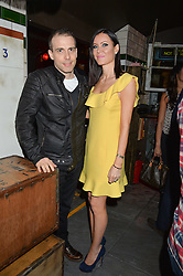 WILL & LINZI STOPPARD at a party to celebrate the opening of Cahoots - a new nightclub from the Inception Group at 13 Kingly Court, Soho, London on 26th February 2015.
