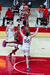 NORMAL, IL - February 27: Emon Washington during a college basketball game between the ISU Redbirds and the Northern Iowa Panthers on February 27 2021 at Redbird Arena in Normal, IL. (Photo by Alan Look)
