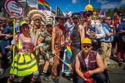 25/6/17 Dublin Pride Parade at St Stephens Green in Dublin. Picture: Arthur Carron