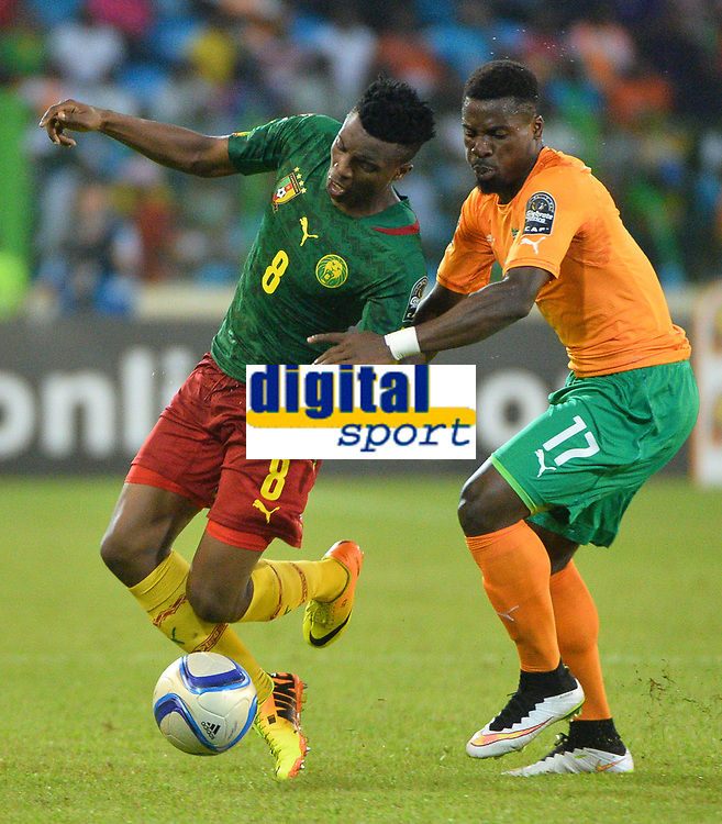 Benjamin Moukanjo ( Cameroun ) - Serge Aurier ( Cote Ivoire )