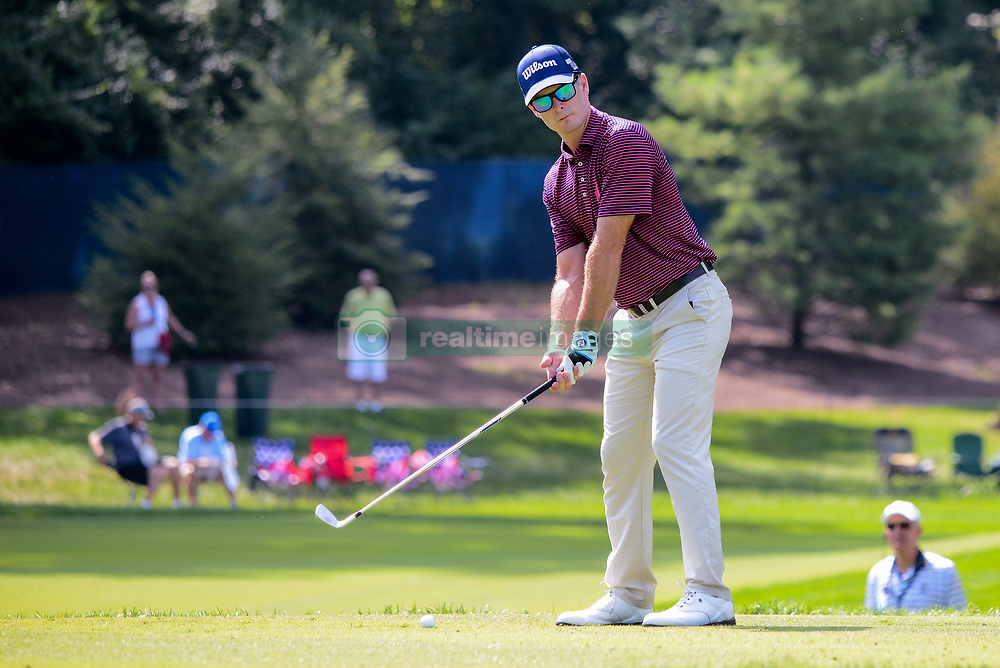 August 9, 2018 - Town And Country, Missouri, U.S - KEVIN STREELMAN from Scottsdale Arizona, USA gets ready to tee off on hole number 13 during round one of the 100th PGA Championship on Thursday, August 8, 2018, held at Bellerive Country Club in Town and Country, MO (Photo credit Richard Ulreich / ZUMA Press) (Credit Image: © Richard Ulreich via ZUMA Wire)