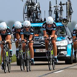 Brainwash Ladiestour Dronten Team Time Trail Senger Metaal Team Sengers; Anna van der Breggen; Vera Koedooder; Geerike van der Breggen-Schreurs; Geerike Schreurs; Evelyne Dergent; Anouk Rockx; Birgit Lavrijssen
