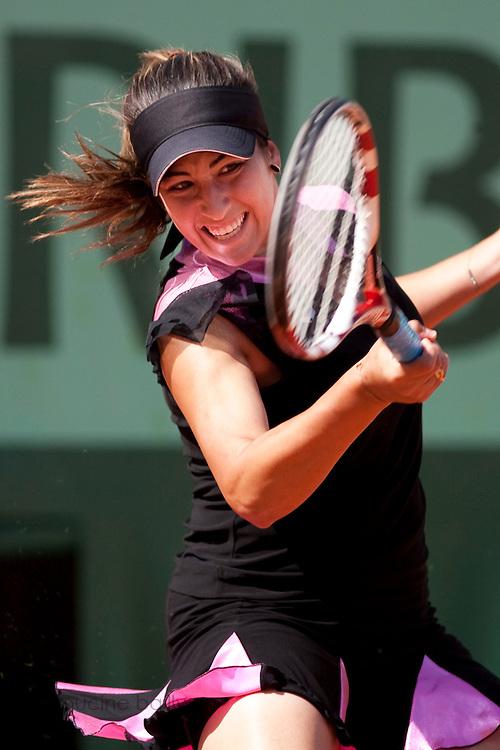Roland Garros 2011. Paris, France. May 23rd 2011..French player Aravane REZAI against Irina-Camelia BEGU