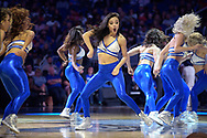 The Orlando Magic dancers perform during the first half of an NBA basketball game against the New Orleans Pelicans in Orlando, Fla., Wednesday, Nov. 16, 2016. (AP Photo/Phelan M. Ebenhack)