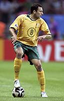 Fotball<br /> Confederations Cup 2005<br /> 15.06.2005<br /> Tyskland v Australia<br /> Foto: Dppi/Digitalsport<br /> NORWAY ONLY<br /> <br /> JOSIP SKOKO (AUS)