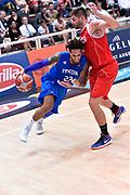 DESCRIZIONE : Trento Nazionale Italia Uomini Trentino Basket Cup Italia Austria Italy Austria <br /> GIOCATORE : Daniel Hackett<br /> CATEGORIA : Palleggio Penetrazione<br /> SQUADRA : Italia Italy<br /> EVENTO : Trentino Basket Cup<br /> GARA : Italia Austria Italy Austria<br /> DATA : 31/07/2015<br /> SPORT : Pallacanestro<br /> AUTORE : Agenzia Ciamillo-Castoria/GiulioCiamillo<br /> Galleria : FIP Nazionali 2015<br /> Fotonotizia : Trento Nazionale Italia Uomini Trentino Basket Cup Italia Austria Italy Austria