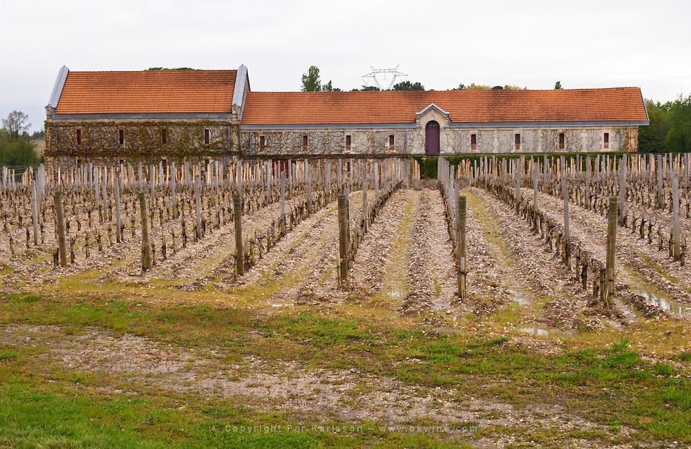 winery building vineyard chateau la garde pessac leognan graves bordeaux france