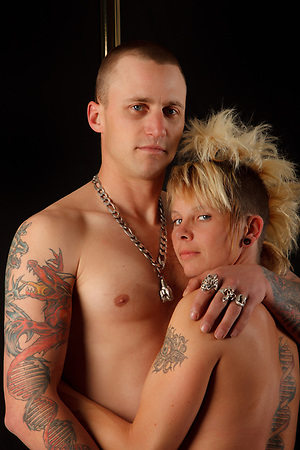Heather & Flynn, Tattoo + You, A Photo Story of Body Ink