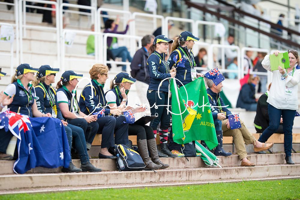 Supporter AUS - Individual Test Grade Ib Para Dressage - Alltech FEI World Equestrian Games™ 2014 - Normandy, France.<br /> © Hippo Foto Team - Jon Stroud <br /> 25/06/14