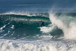 Conner Coffin (USA) advances to the Quarterfinals of the 2018 Quiksilver Pro France after winning Heat 1 of Round 4 in Hossegor, France.