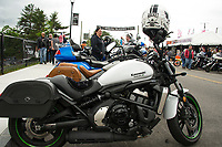 Motorcycle Week at Lakeside Avenue.  Karen Bobotas for the Laconia Daily Sun