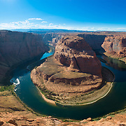 Panorama od Horseshoe Bend and Colorado River, Arizona, USA