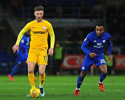 Loic Damour of Cardiff City chases down Paul Gallagher of Preston North End- Mandatory by-line: Nizaam Jones/JMP - 29/12/2017 -  FOOTBALL - Cardiff City Stadium - Cardiff, Wales -  Cardiff City v Preston North End - Sky Bet Championship
