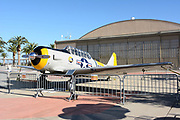 Old Plane and Hangar at Orange County Great Park Irvine