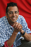 SIMON SINGH, author of 'Fermat's Last Theorem'.  Edinburgh International Book Festival 2005, Edinburgh, Scotland.