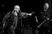 """Legendary saxophonists David Liebman introduces the great Jeff Coffin at their performance of music from Miles Davis's """"On the Corner"""" sessions, on which Liebman originally appeared as a member of Davis's band."""