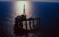 Stock photo of Offshore Oil Rig