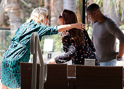 EXCLUSIVE: I'm A Celebrity get me out of here. Extra Camp presenters hug after completing the 10th episode. Joel Dommett, Emily Atack, Adam Thomas, Ricky Haywood-Williams, Denise Vanouten. 27 Nov 2019 Pictured: I'm A Celebrity get me out of here. Joel Dommett, Emily Atack, Adam Thomas, Ricky Haywood-Williams, Denise Vanouten. Photo credit: MEGA TheMegaAgency.com +1 888 505 6342