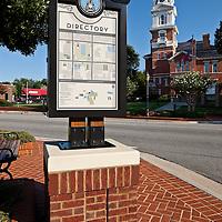 Lawrenceville Directory Sign - Lawrenceville, GA