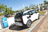 BMW i3 charging at Constantia Village