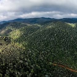 """""""Aérea Floresta (Paisagem) fotografado em Santa Teresa, Espírito Santo -  Sudeste do Brasil. Bioma Mata Atlântica. Registro feito em 2016.<br /> <br /> <br /> <br /> ENGLISH: Forest aerial photographed  in Santa Teresa, Espírito Santo - Southeast of Brazil. Atlantic Forest Biome. Picture made in 2016."""""""