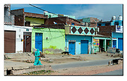 Colourful suburb in Rajasthan, India. Nikon D5, 70-200mm @ 70mm, f4.5, 1/2500sec, ISO 200, Shutter priority.