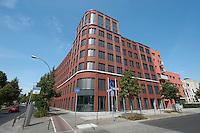 15 AUG 2009, BERLIN/GERMANY:<br /> Gebaeude der Friedrich-Ebert-Stiftung, Hiroshimastrasse 28 / Ecke Reichspietschufer<br /> IMAGE: 20090815-01-008<br /> KEYWORDS: Gebäude, Haus, Buerohaus, Bürohaus