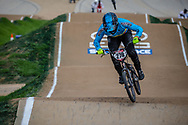 #278 (RAMIREZ YEPES Carlos Alberto) COL at Round 2 of the 2020 UCI BMX Supercross World Cup in Shepparton, Australia.
