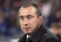 Fotball<br /> Foto: imago/Digitalsport<br /> NORWAY ONLY<br /> <br /> 06.04.2006  <br /> <br /> Trainer Stanimir Stoilov (Levski Sofia)<br /> <br /> FC Schalke 04 - PFK Levski Sofia 1:1<br /> UEFA Cup 2005/2006
