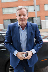 © Licensed to London News Pictures. 28/01/2018. London, UK. PIERS MORGAN arrives at ITV Studios to appear on the television programme 'Peston on Sunday'. Photo credit: Vickie Flores/LNP