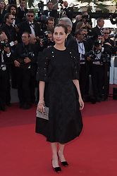 Amira Casar attending the Closing Ceremony during the 70th annual Cannes Film Festival held at the Palais Des Festivals in Cannes, France on May 28, 2017 as part of the 70th Cannes Film Festival. Photo by Nicolas Genin/ABACAPRESS.COM