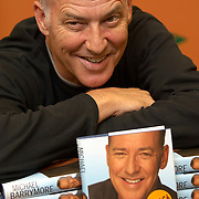 """TV entertainer Michael Barrymore promoting his book """"Awight Now: setting the records straight"""", at Glasgow Ottakar bookstore, October 2006<br />"""