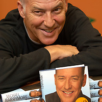 "TV entertainer Michael Barrymore promoting his book ""Awight Now: setting the records straight"", at Glasgow Ottakar bookstore, October 2006<br />"