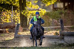 Degroote Emma, BEL, Newton vh Strateneinde<br /> LRV Ponie cross - Zoersel 2018<br /> © Hippo Foto - Dirk Caremans<br /> 28/10/2018