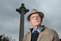 Harry Smith, 91 year old, author, RAF veteran and Barnsley miner's son, remembers. Memorial Hospital, Holmforth, West Yorkshire