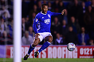 David Davis of Birmingham city in action .EFL Skybet championship match, Birmingham city v Cardiff city at St.Andrew's stadium in Birmingham, the Midlands on Friday 13th October 2017.<br /> pic by Bradley Collyer, Andrew Orchard sports photography.