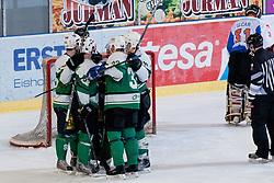 during ice-hockey match between HK Olimpija and HK Triglav in third match for Third place at Slovenian National League, on April 6, 2011 at Hala Tivoli, Ljubljana, Slovenia. (Photo By Matic Klansek Velej / Sportida.com)