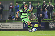 Forest Green Rovers Liam Noble (15) on the ball during the Vanarama National League match between Forest Green Rovers and Eastleigh at the New Lawn, Forest Green, United Kingdom on 13 September 2016. Photo by Shane Healey.