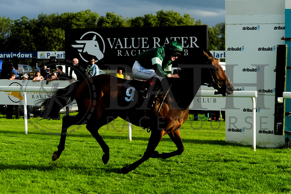 Lady Natasha ridden by Sophie Ralston and trained by James Grassick in the Kingstone Press Apple Handicap (Value Rater Racing Club Bath Summer Stayers Series Qualifier)(Class 5) race.  - Ryan Hiscott/JMP - 17/08/2019 - PR - Bath Racecourse - Bath, England - Race Meeting at Bath Racecourse